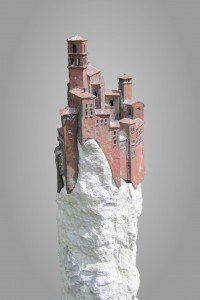 Città in sospeso  Brons en marmer