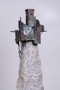 Adelaarsnest  Brons en graniet