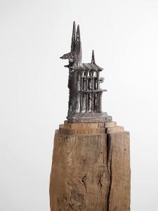 Der Dom  Brons en eikenhout