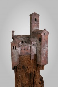 Desiderio per L'Umbria  Brons en eikenhout